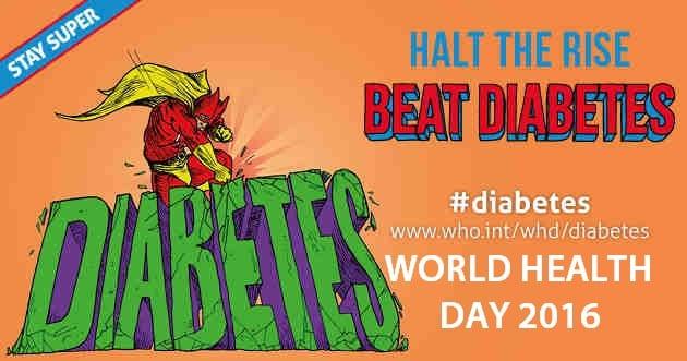world health day 2016 - beat diabetes