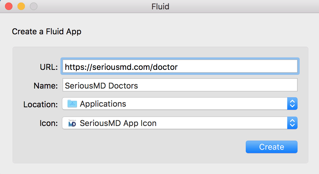 SeriousMD Doctors Mac OSX