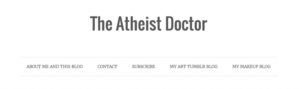 The Atheist Doctor