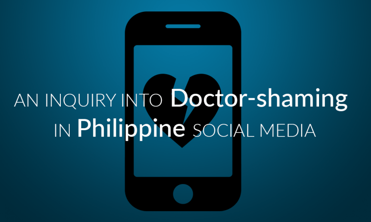 doctor shaming philippines social media