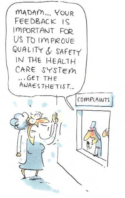 Patient complaints funny comic