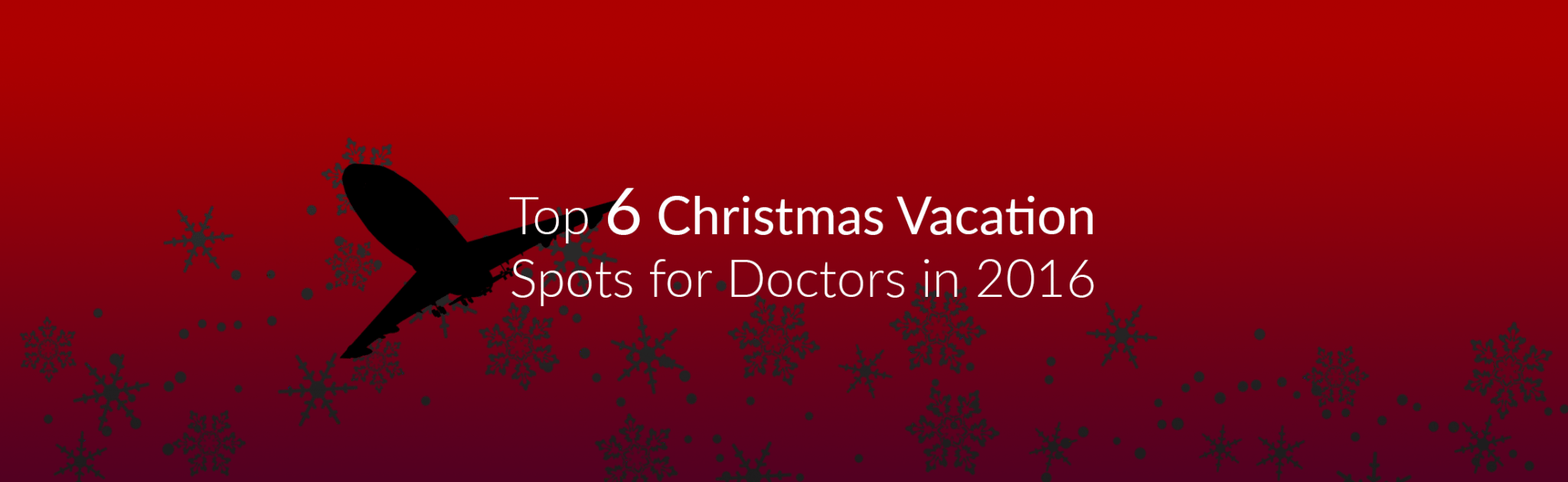 Top Christmas Vacation spots Philippine Doctors 2016