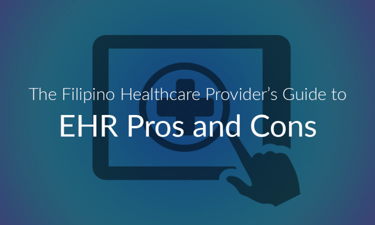 EHR pros and cons