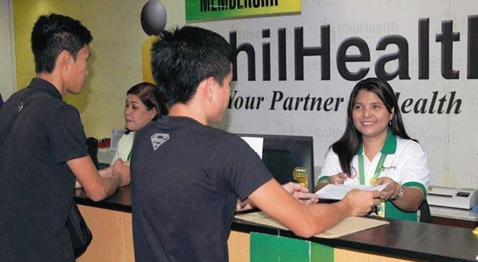 Philhealth officer at work