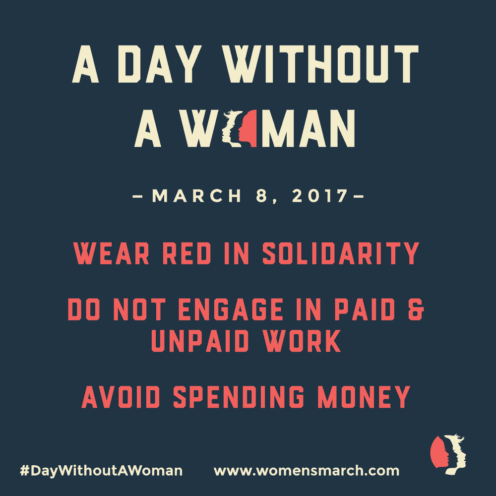 a day without a woman march