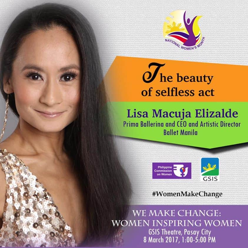 lisa macuja-elizalde for women inspiring women