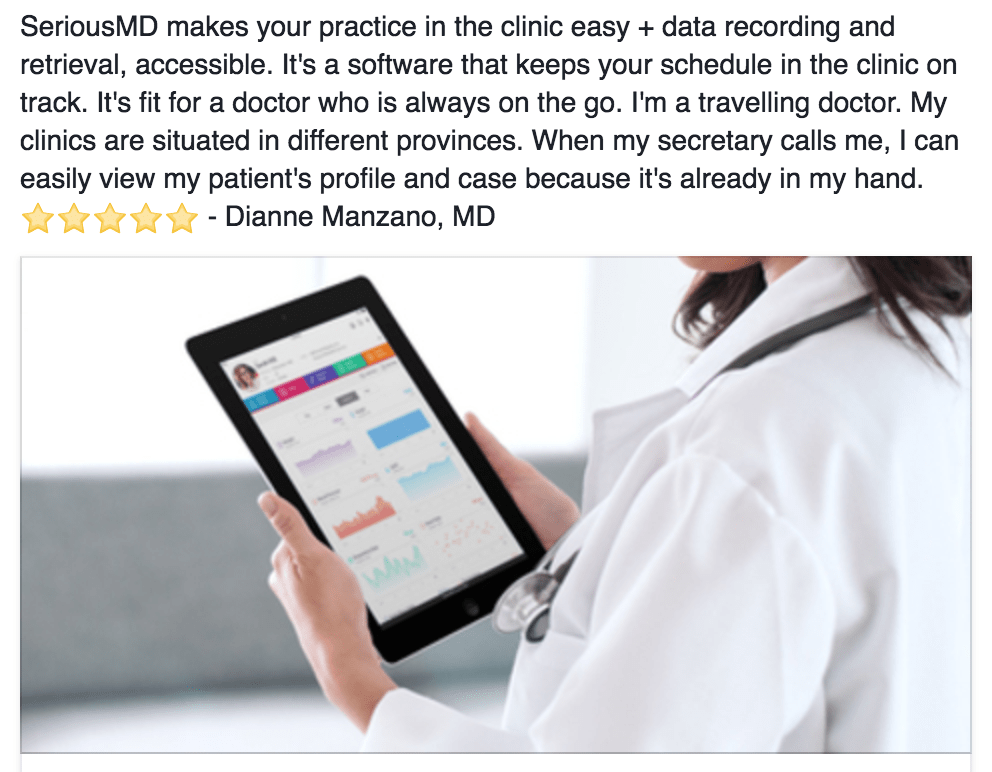 seriousmd ehr Different Clinic Appointment Management