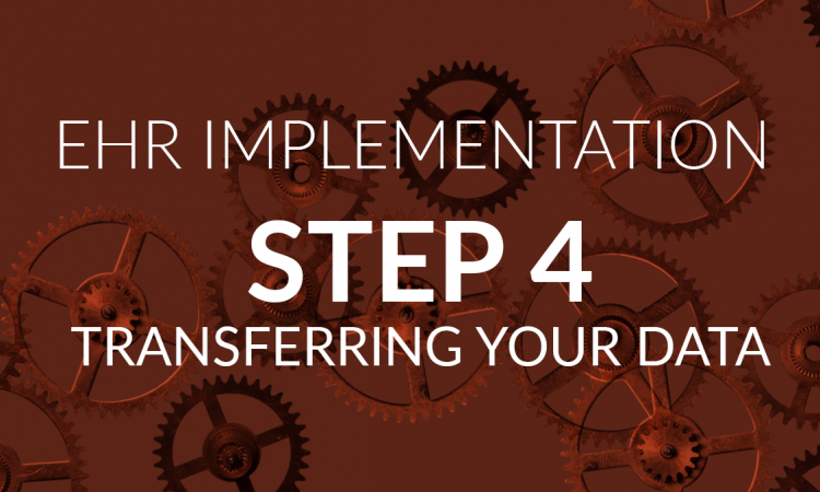 ehr implementation step 4