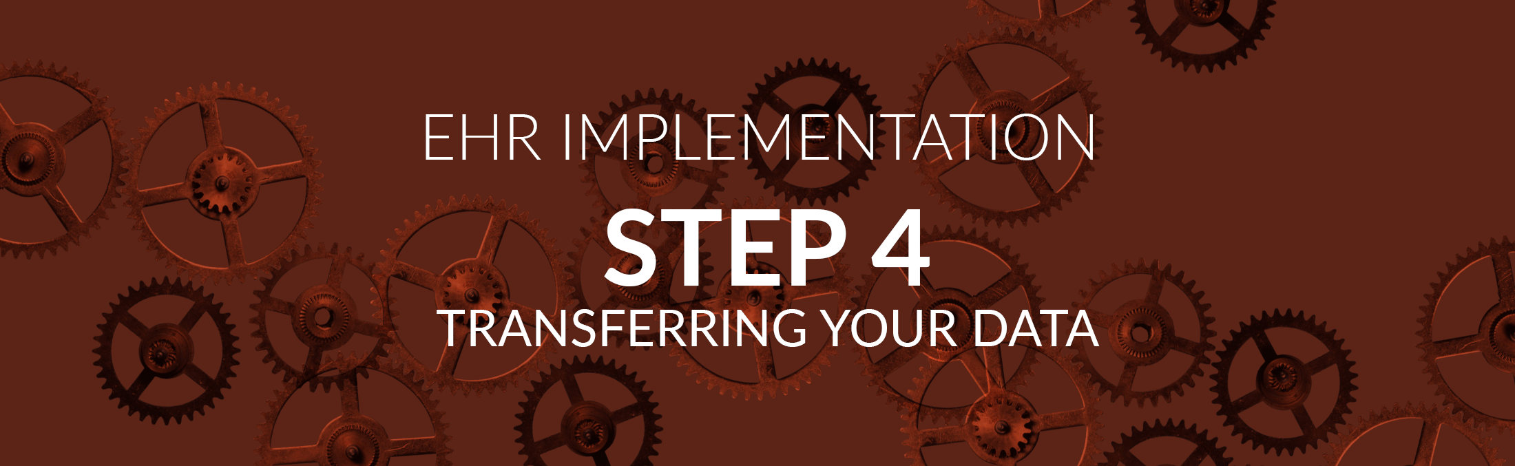 ehr implementation step 4