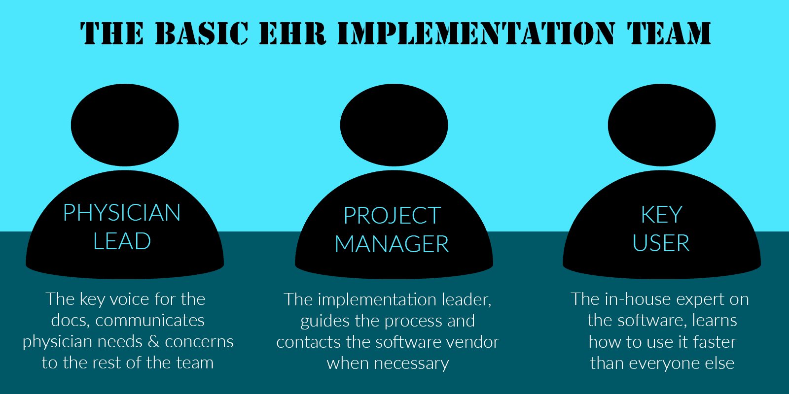 EHR implementation team roles