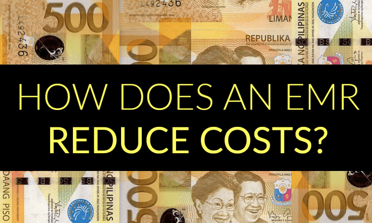 how does emr reduce costs banner