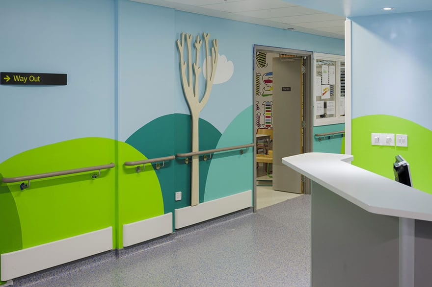 London Children's Hospital - Donna Wilson mural