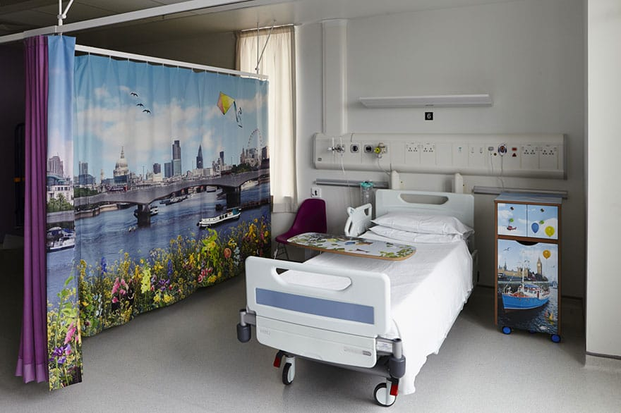 London Children's Hospital - Ella Doran textiles and furniture