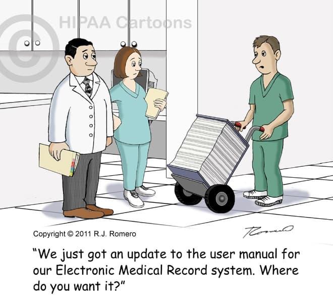 ehr funny cartoon
