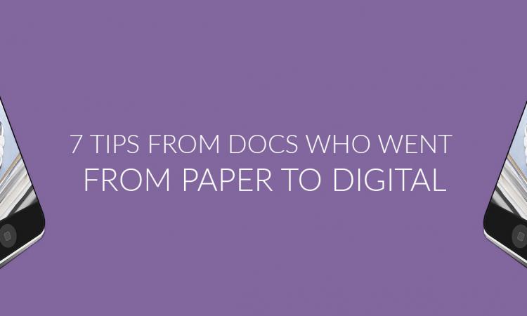 docs tips paper to digital