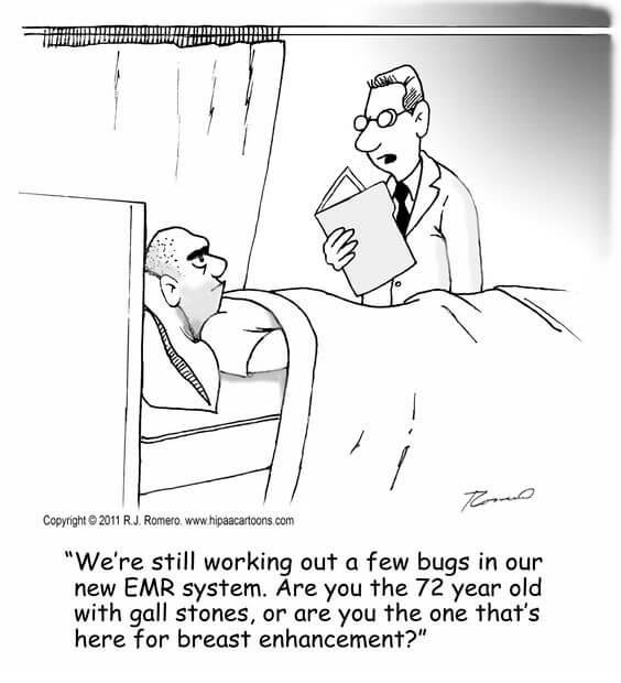 EHR System Joke