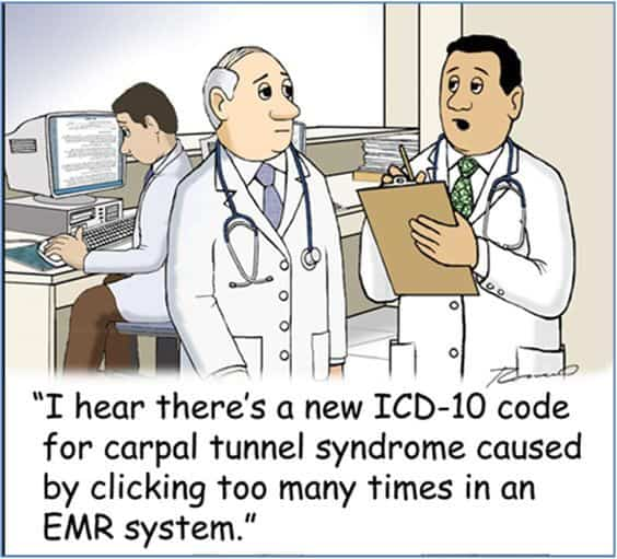 EMR ICD 10 Joke