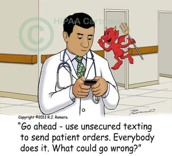 Hipaa SMS Joke