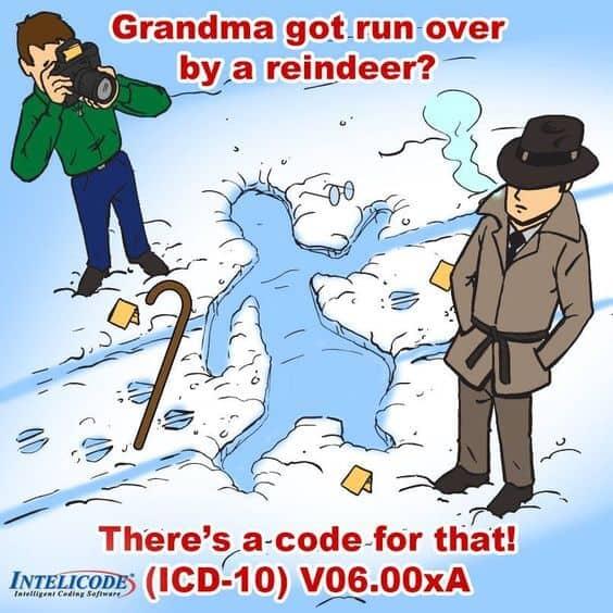 ICD 10 Joke
