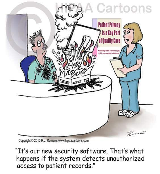 Patient Record Privacy Joke