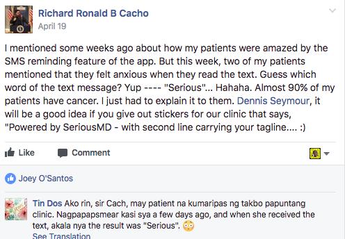 patient reminder misunderstanding