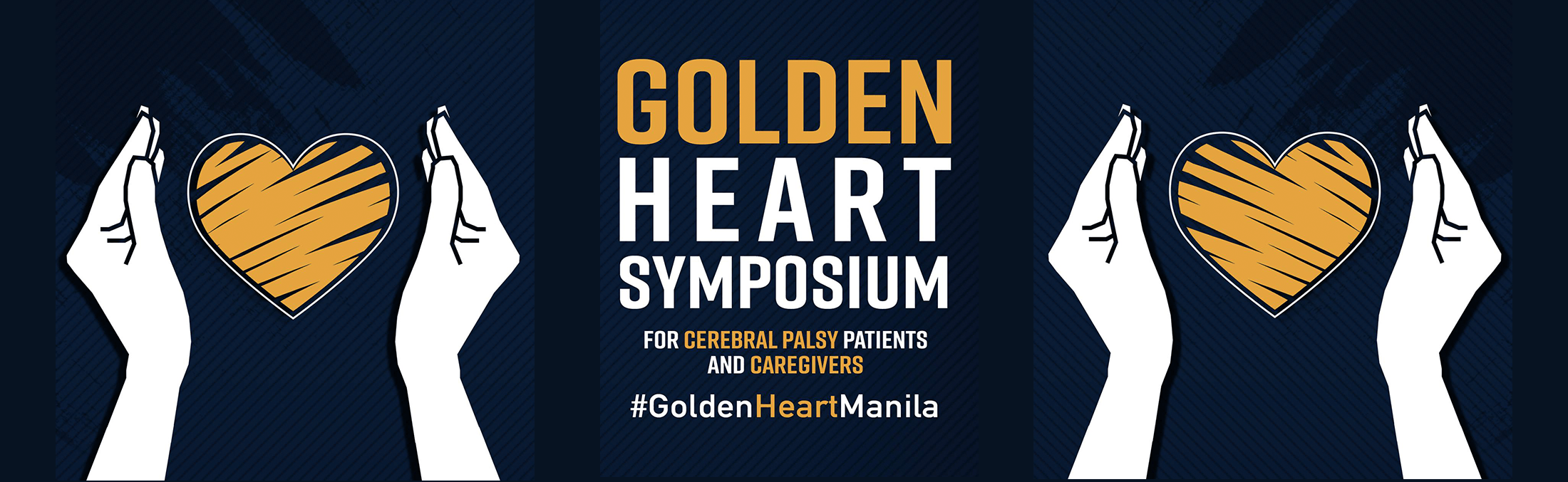 golden heart symposium banner