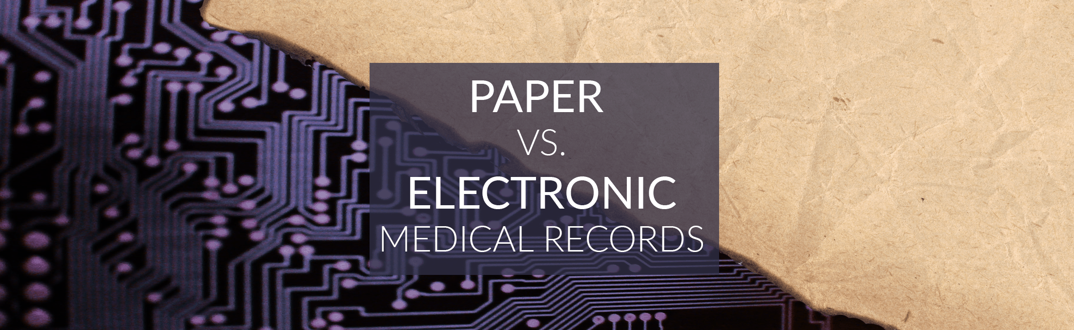 electronic medical records paper As technology improves, the debate over whether to store medical records on paper or electronically grows the issue is up for debate on a number of fronts, as both paper and electronic records offer strengths and weaknesses as medical facilities typically have years, if not decades, of paper records already, it can.