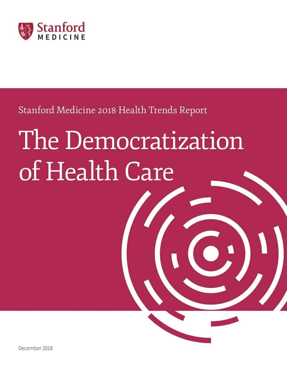 stanford med health report democratization of healthcare