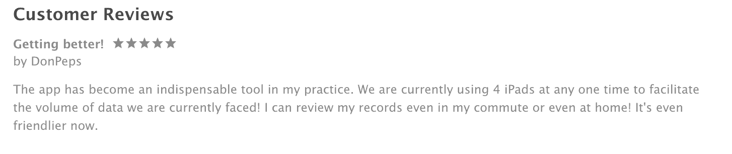 Apple Store Reviews