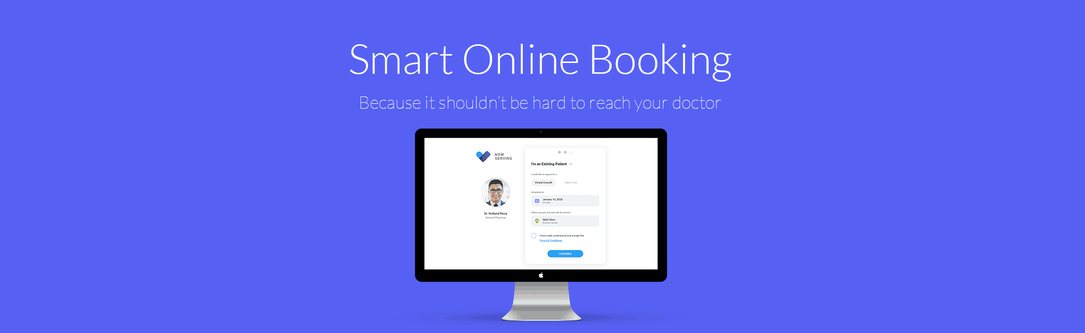 Book a doctor online