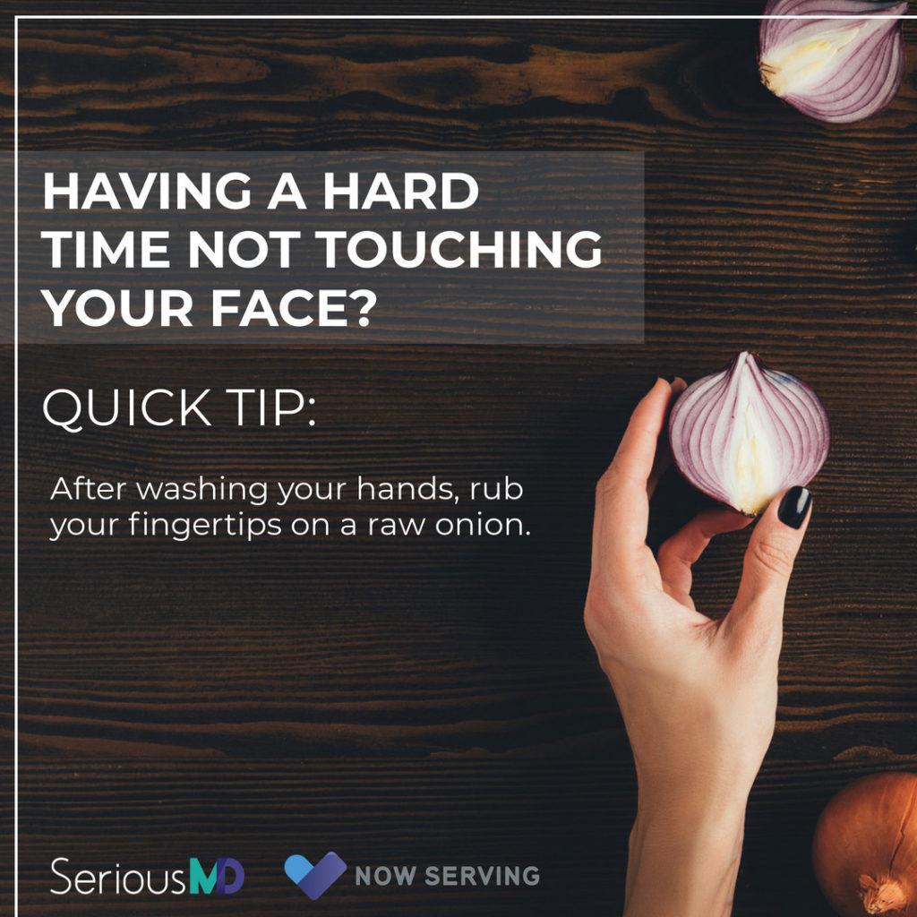 Corona virus tip poster