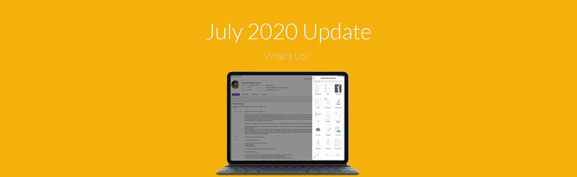 july seriousmd update