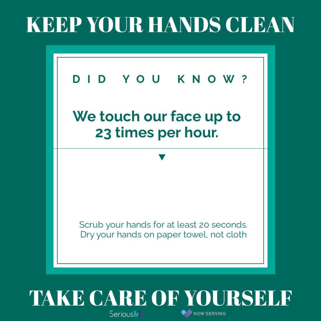 wash your hands corona