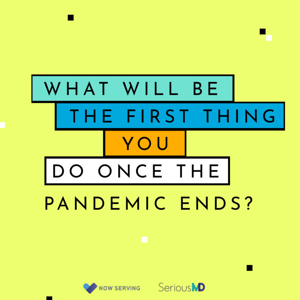 when the pandemic ends