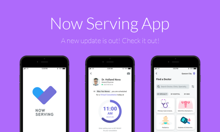 Now Serving app Update