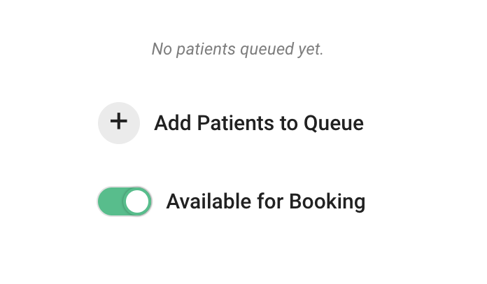 block bookings seriousmd