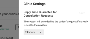 booking response time guarantee